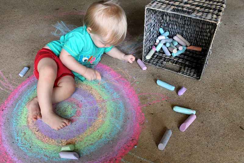 art activities for 1 year old baby