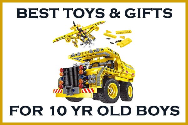 best toys and gifts for 10 year old boys
